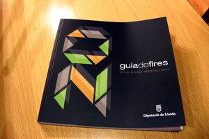 Detall de la Guia de Fires de les Terres de Lleida 2020, el dia 7 de febrer de 2020.
