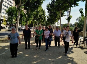 Imatge d'una caminada a Lleida
