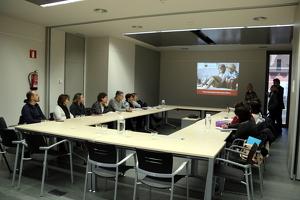 Pla general de la presentació del projecte Difference als professionals del Pallars Jussà