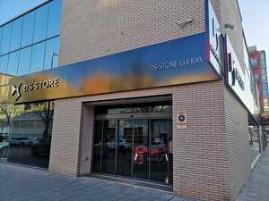 Imatge de la façana de la nova DS Store Lleida, el dia 25 de febrer de 2020.