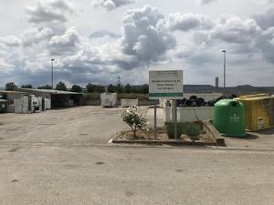 Pla general de la deixalleria comarcal de les Borges Blanques