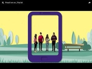 Imatge promocional del vídeo dels alumnes lleidatans
