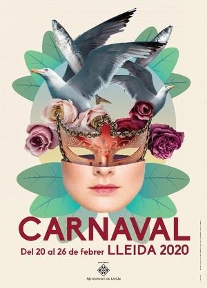 Imatge del Cartell de Carnaval de Lleida 2020