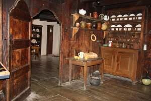 Imatge de l'interior de l'Ecomuseu de les Valls d'Àneu, al Pallars Sobirà