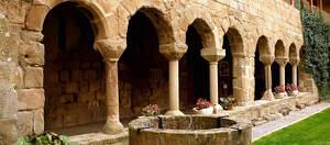 Imatge del monestir de la Baronia de Rialb