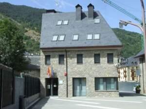 Imatge de l'oficina judicial de Vielha