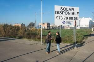 Imatge del solar disponible a Ciutat Jardí