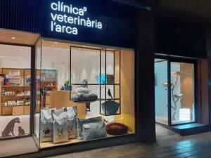 Imatge de la valorada clínica veterinària de Lleida