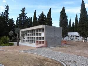 Imatge del cementiri de les Borges Blanques