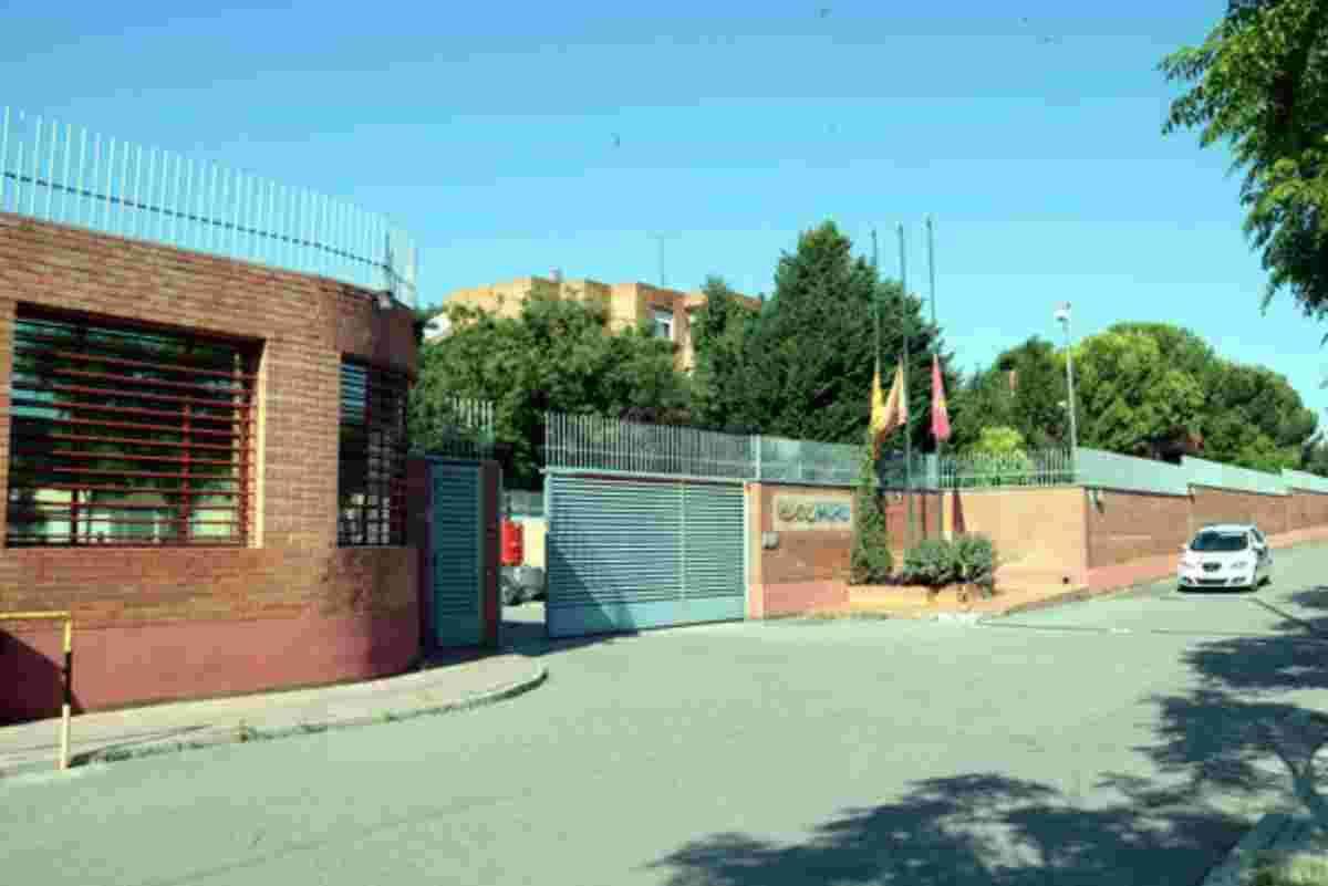 Pla general de l'entrada al Centre Penitenciari de Ponent