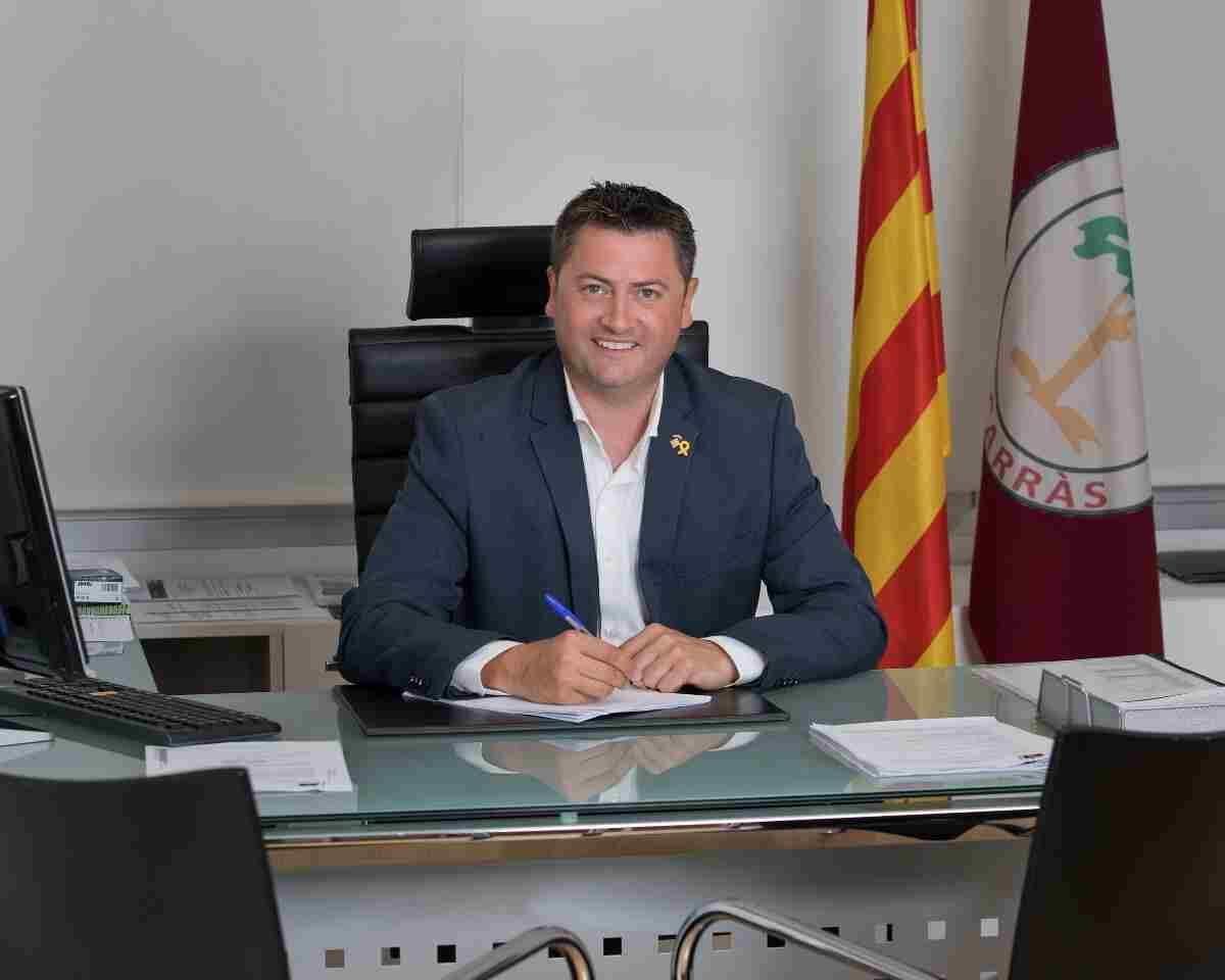 Imatge de Jordi Janés, alcalde d'Alcarràs