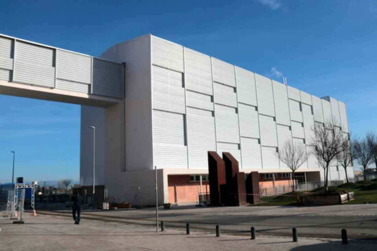 Pla general de l'edifici polivalent annex a l'Hospital Universitari Arnau de Vilanova de Lleida