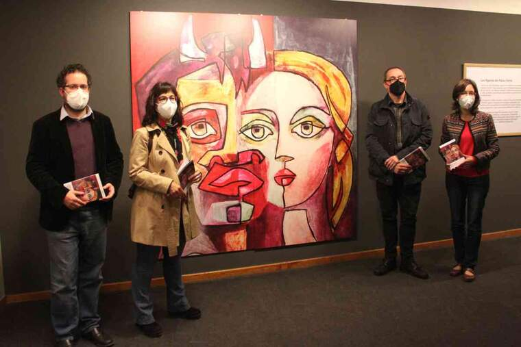Imatge d'una exposició al Museu de Tàrrega