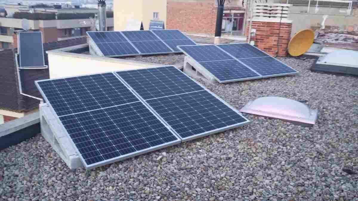 Imatge d'unes plaques solars
