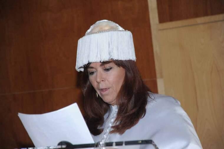 Bonet va ser investida 'honoris causa' per la UdL al 2009
