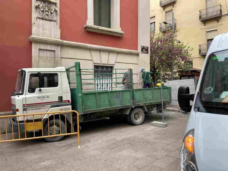Imatge de la façana de la Diputació de Lleida