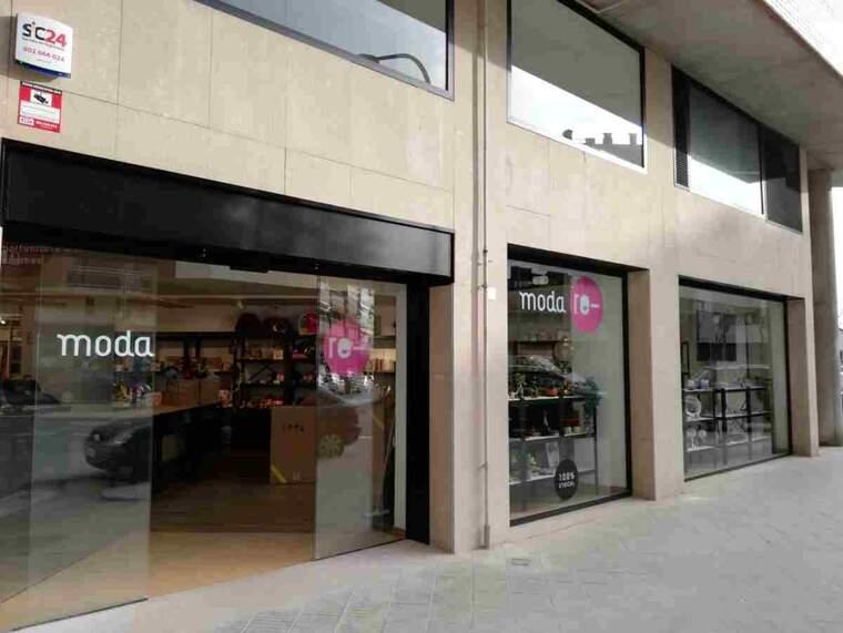 Imatge de la nova botiga de Càritas a Balaguer