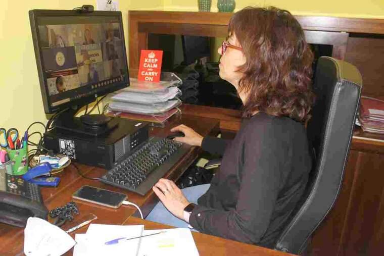 Imatge de l'alcaldessa de Tàrrega