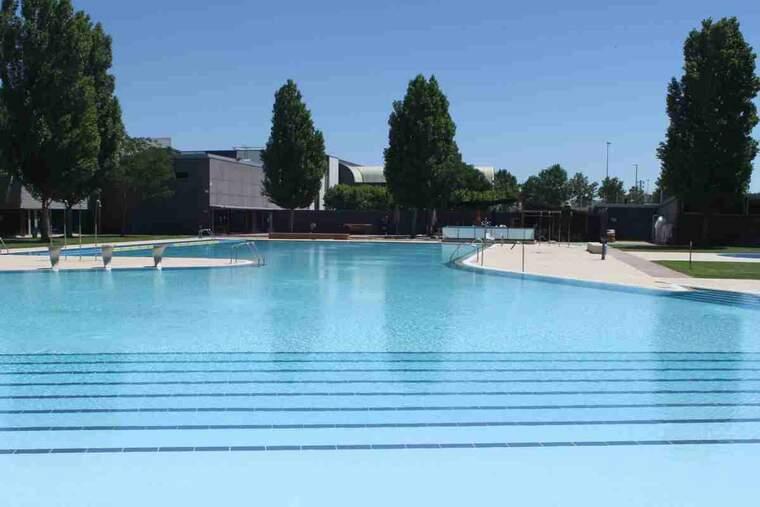 Imatge de les piscines municipals de Tàrrega