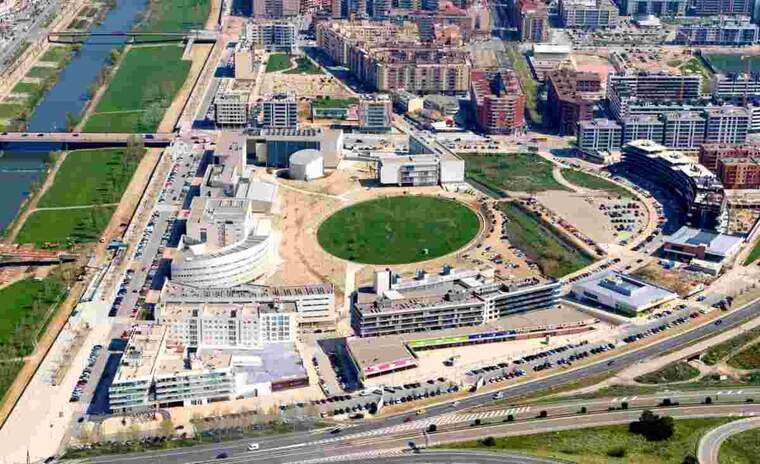 Imatge del campus de Cappont de la UdL