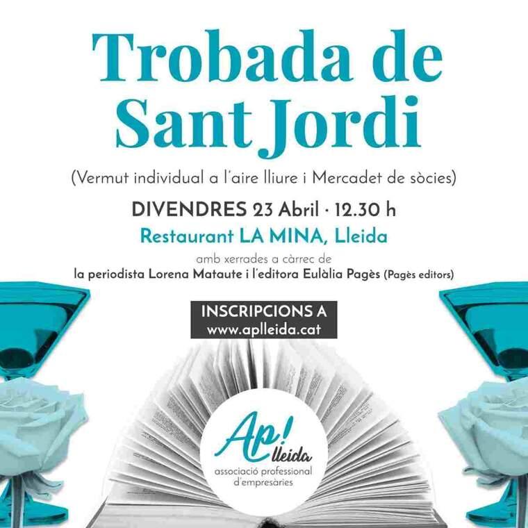 Imatge del cartell de la jornada d'Ap! Lleida