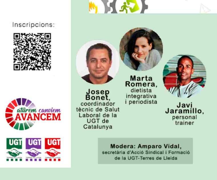 Imatge del cartell de la jornada d'UGT-Terres de Lleida