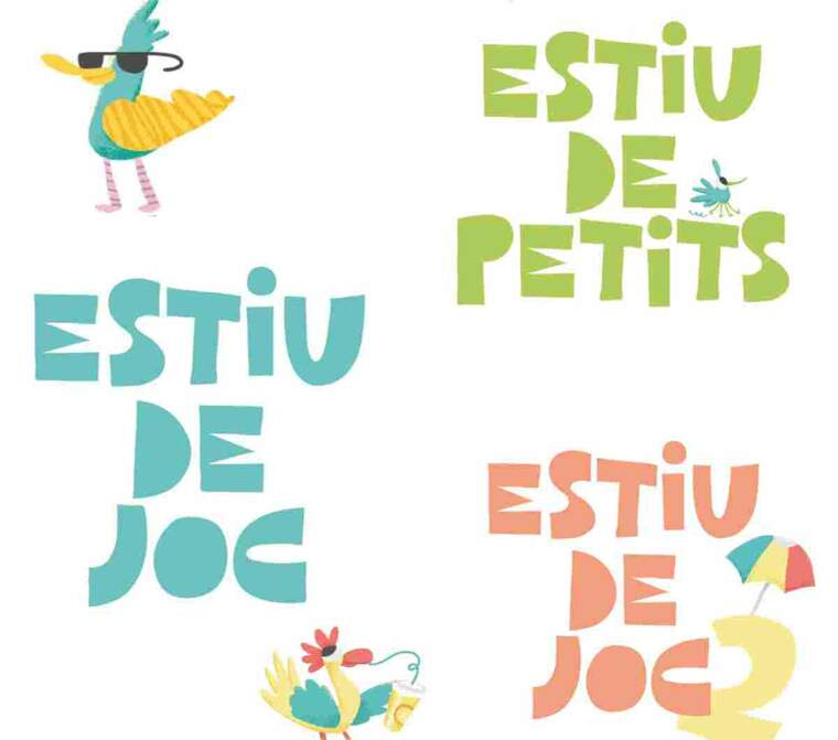 Imatge del cartell de les activitats municipals d'estiu a Lleida
