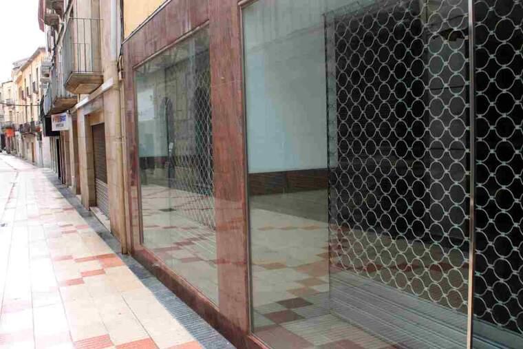 Imatge d'un local tancat a Tàrrega