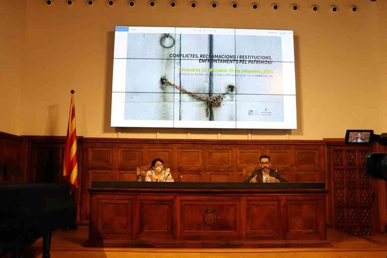 Imatge sobre la presentació del congrés de l'art a l'IEI
