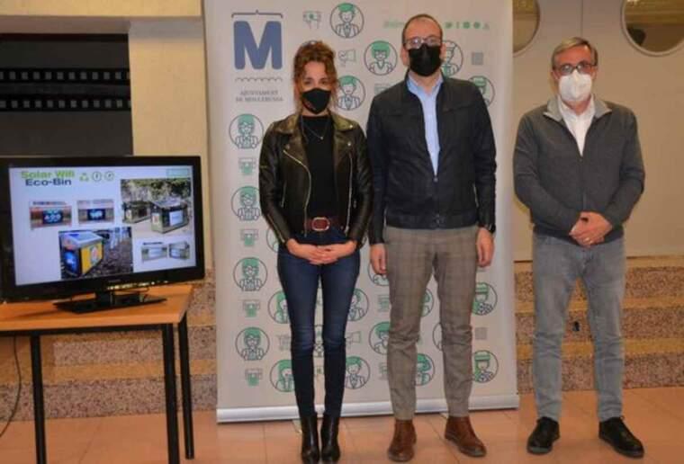 Lleida de Solar Outdoor Media, i Esteve Aymerich, assessor de l'àmbit Smart