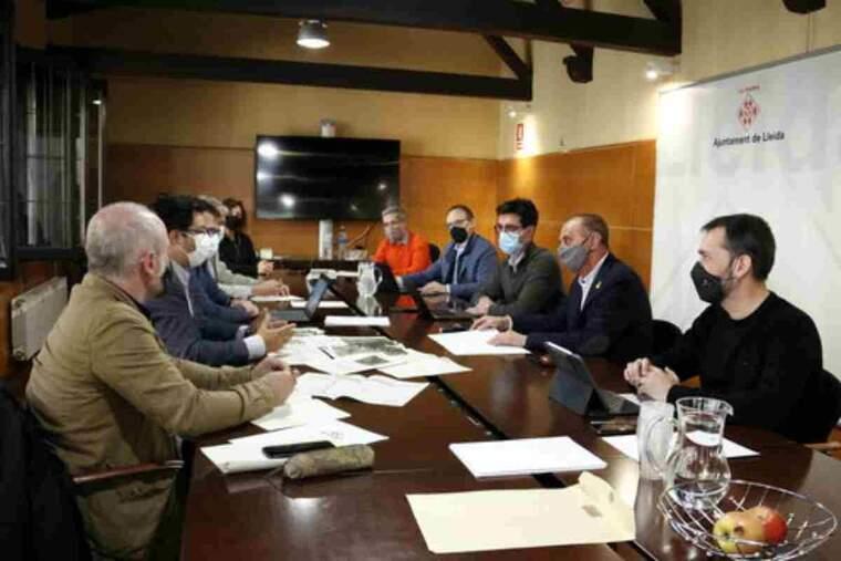 Mobilitat, Isidre Gavin, encapçalada per l'alcalde de Lleida, Miquel Pueyo