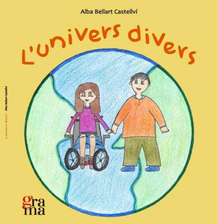 Portada del llibre 'L'univers divers' editat per l'IRBLleida per visibilitzar i conscienciar sobre les malalties minoritàries