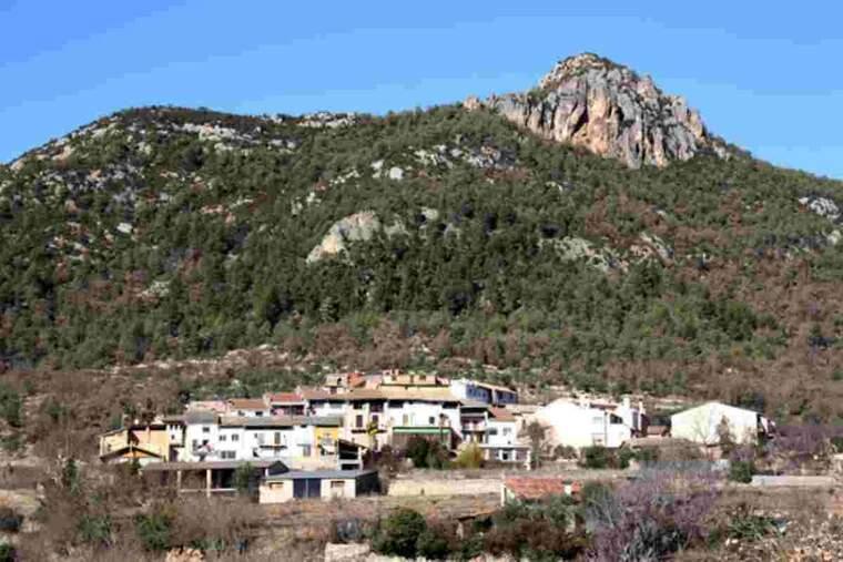 Vista panoràmica de Peramola (Alt Urgell)