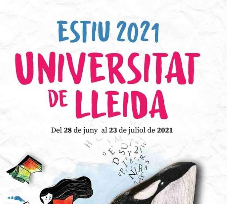 Cartell de la universitat d'estiu de la UdL