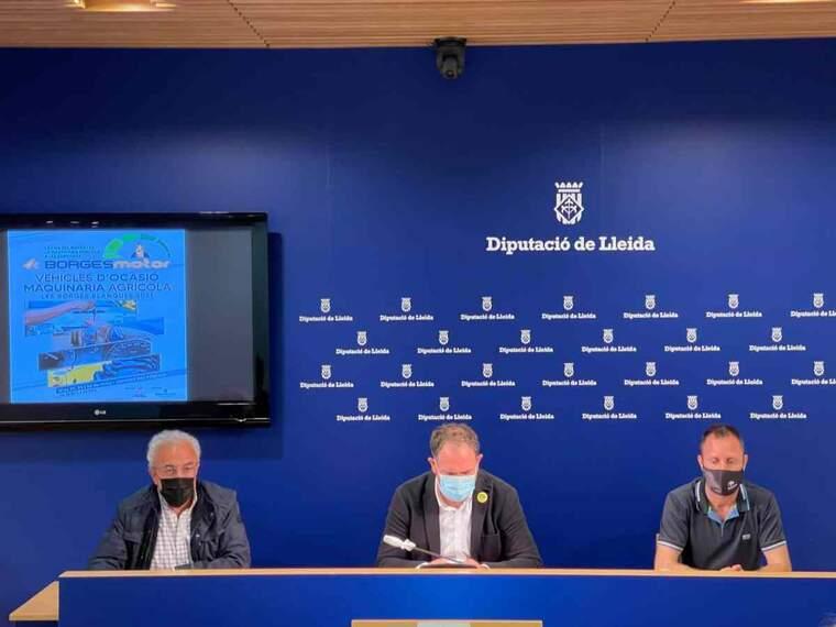 Imatge de la presentació de la fira Borges Motor