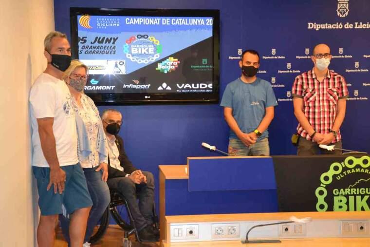 Imatge de la presentació de les GarriguesBike