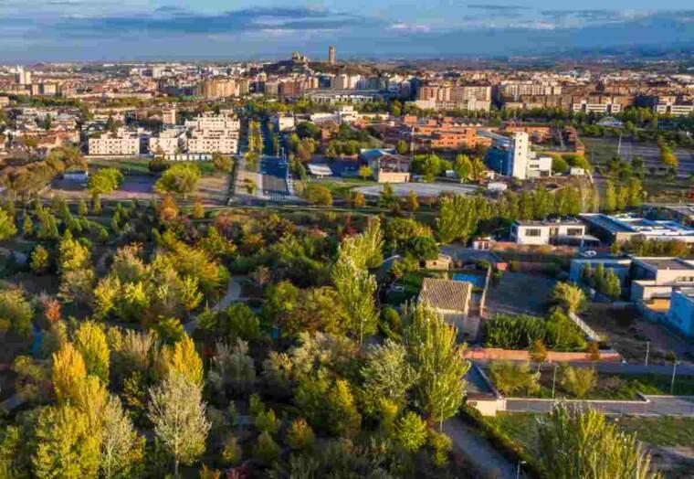Imatge de l'Arborètum de Lleida