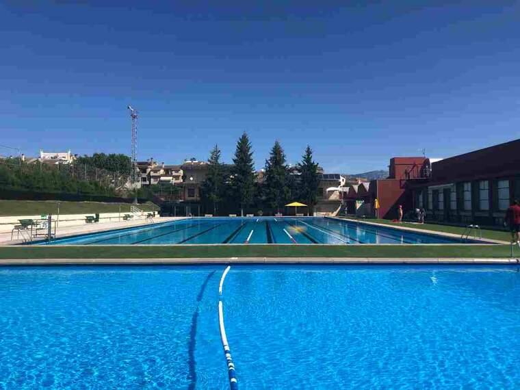 Imatge de les piscines de Solsona