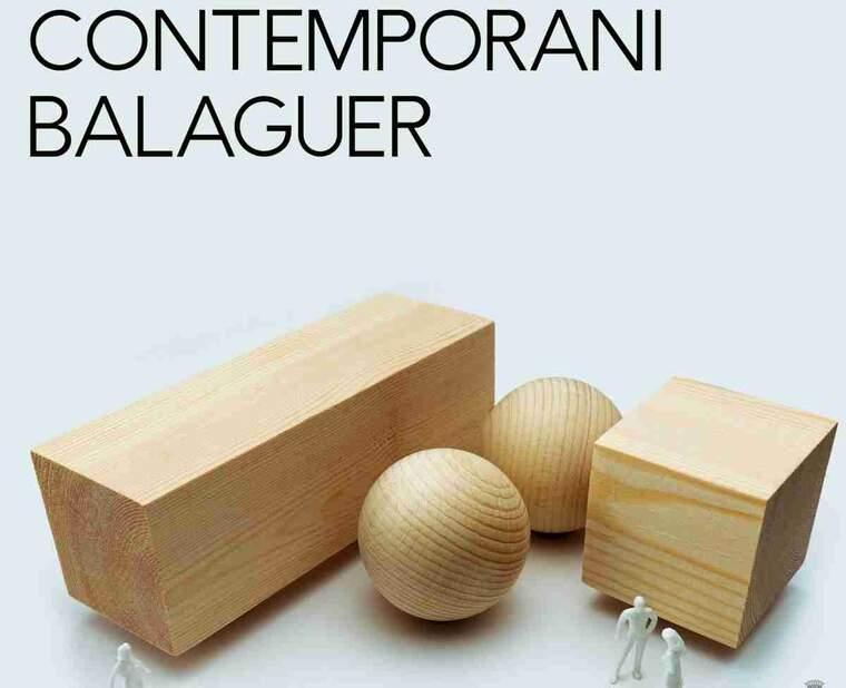 Imatge de part del cartell de l'acte d'art de Balaguer