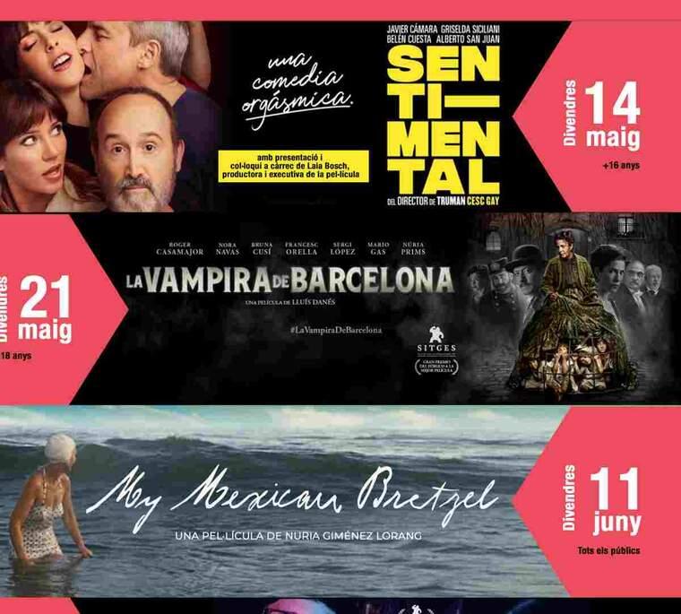 Imatge del cartell de cinema de Balaguer