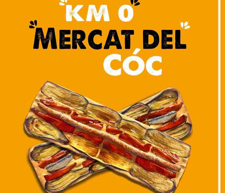 Imatge del cartell de la fira del cóc de Tàrrega