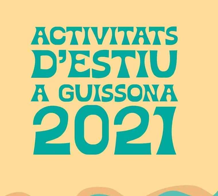 Imatge del cartell de les activitats de Guissona