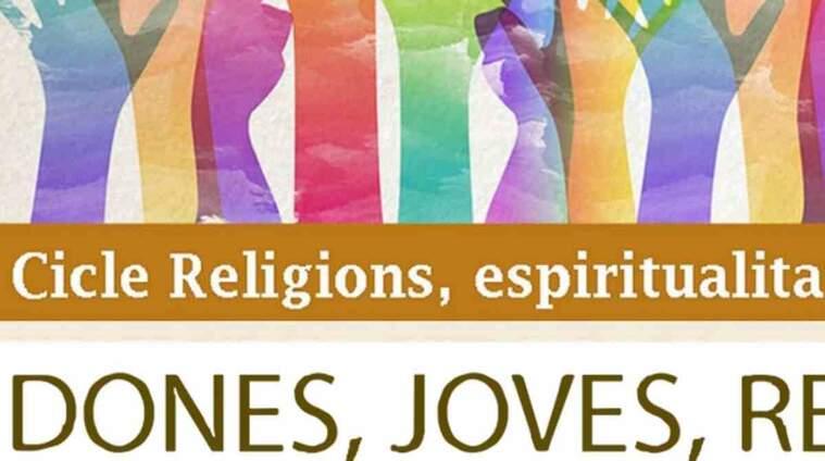Imatge del cartell del cicle de religió i dones