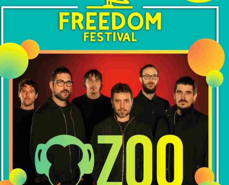 Imatge del cartell del Freedom Festival de Lleida