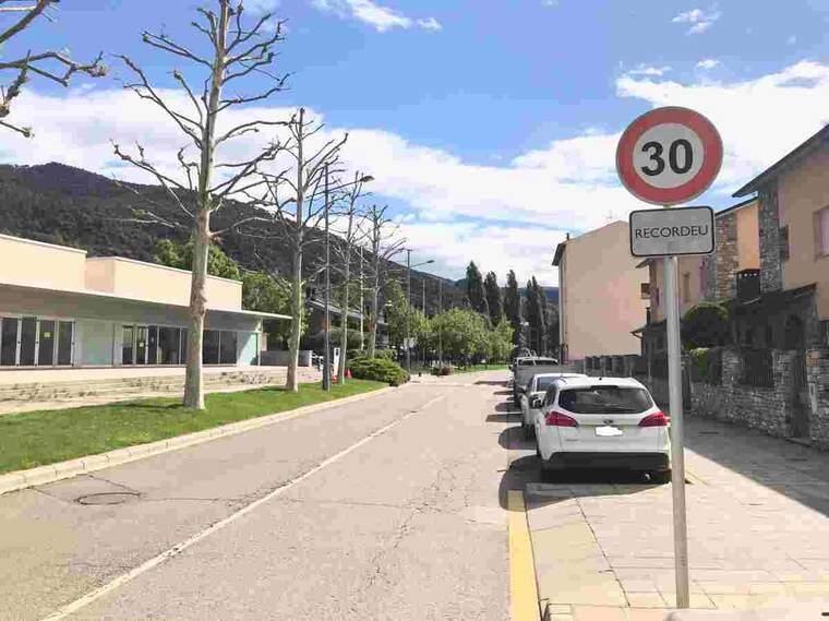 Imatge d'un carrer de la Seu d'Urgell