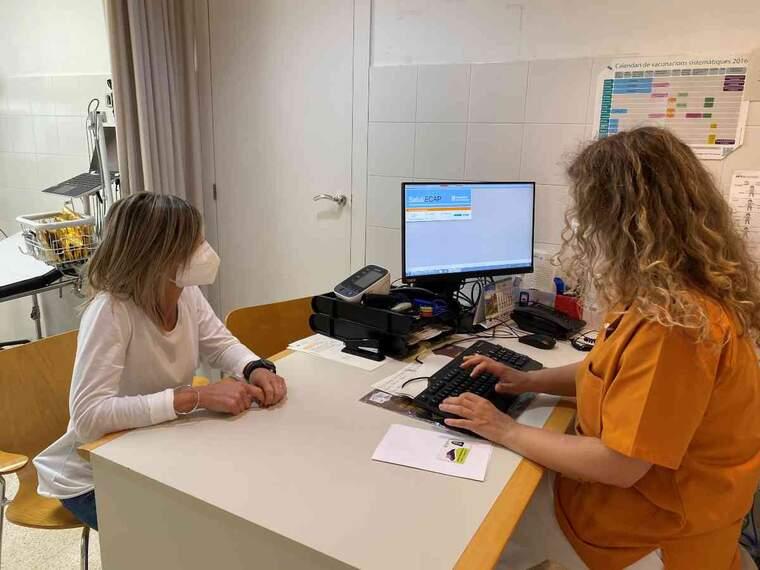 Imatge d'una consulta d'infermeria