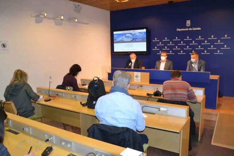 Imatge d'una presentació a la Diputació de Lleida