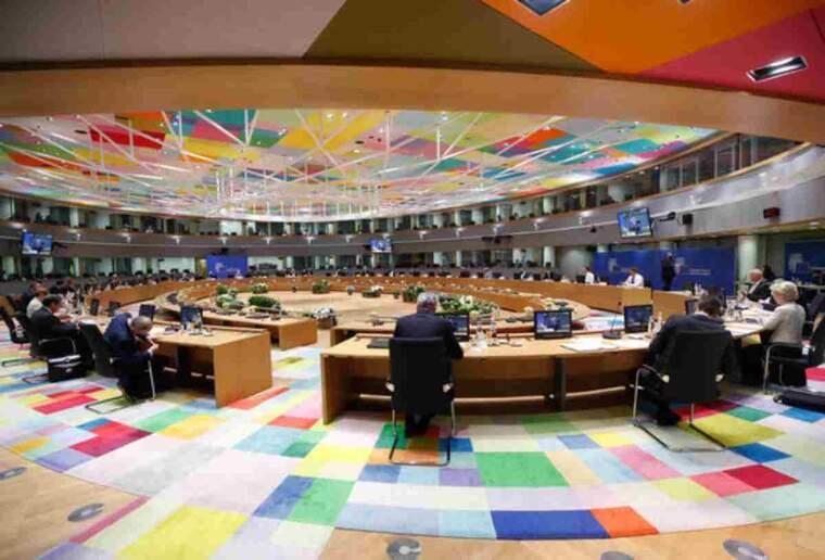 Pla general de la reunió dels líders europeus a Brussel·les pel Consell Europeu