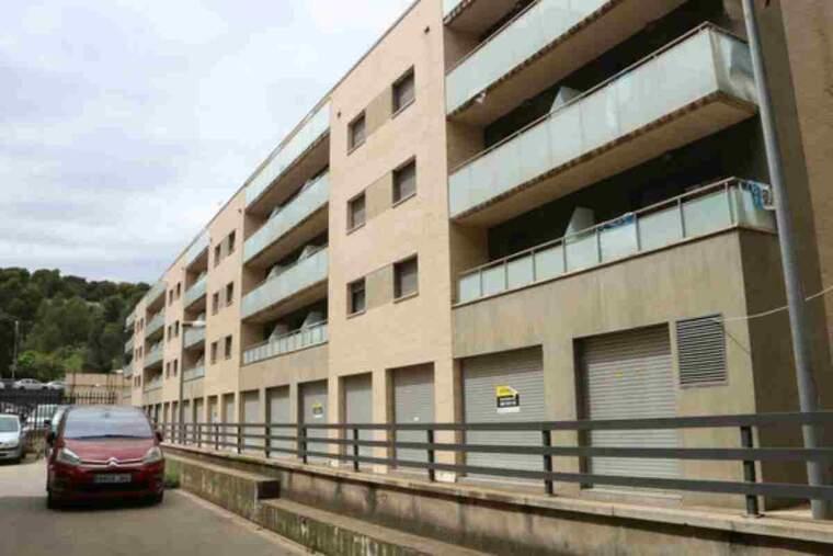 Pla general de l'edifici de pisos de Servihabitat de l'avinguda Perpinyà de Figueres