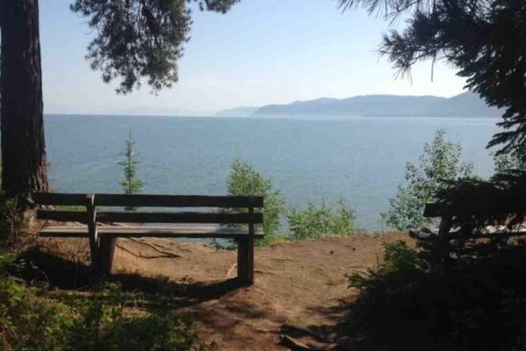 Pla obert de la zona protegida del Llac Baikal, a Sibèria